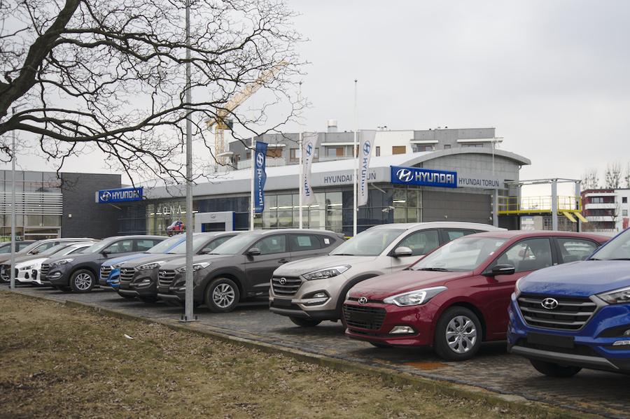 SMH Toruń parking
