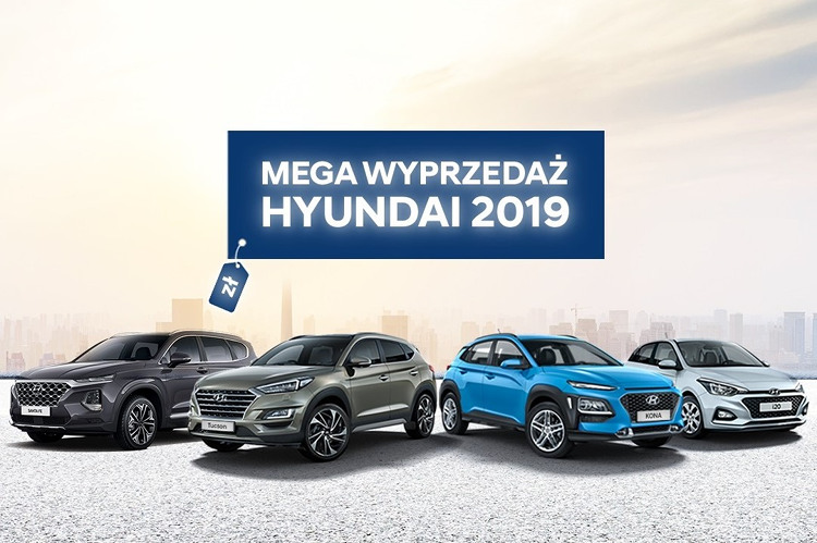 mega wyprzedaż hyundai 2019